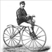 Picture Of Bicycle From James Starley Period
