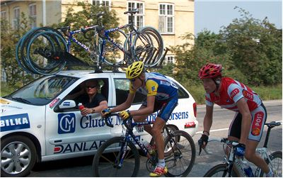Picture Of Bicycle Race Denmark