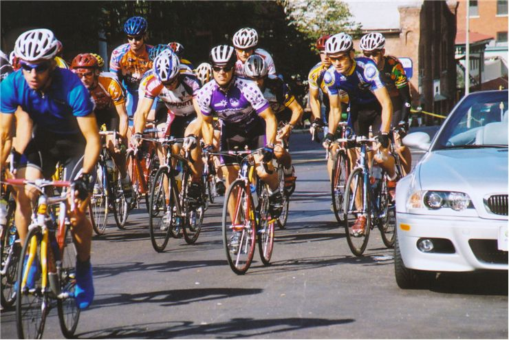 Picture Of Bicycle Race Start