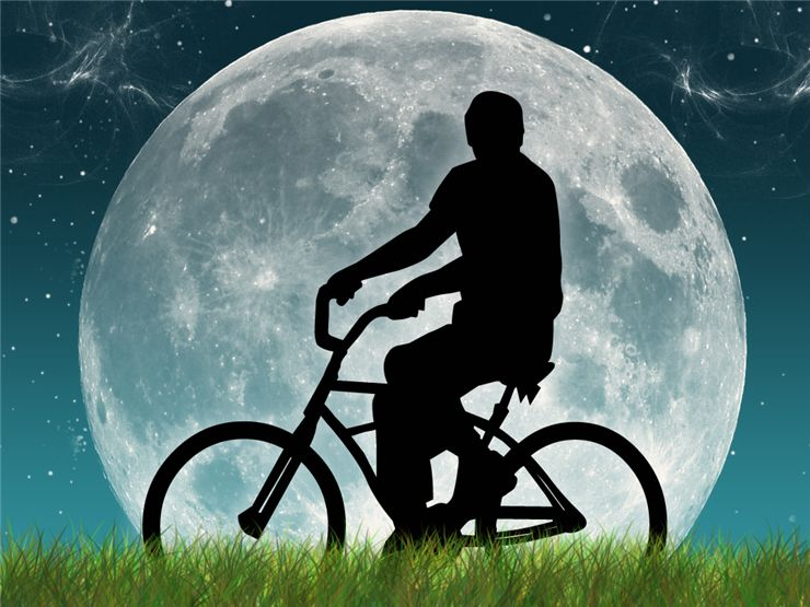 Picture Of Bicycle Rider