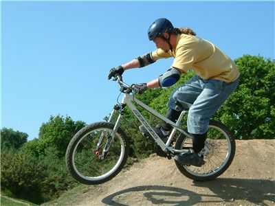 Picture Of Bike Jumping Extreme Sport
