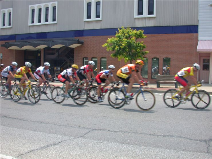 Picture Of Bike Racers