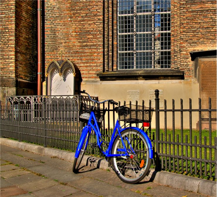 Picture Of Blue Bike