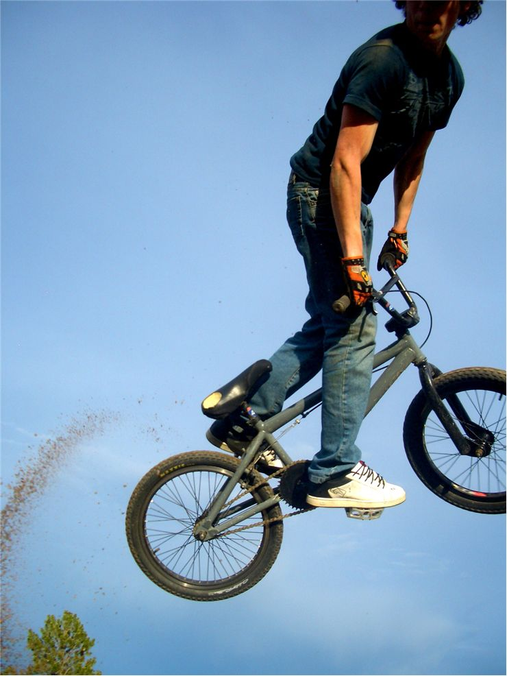 Picture Of Bmx Bike Jump