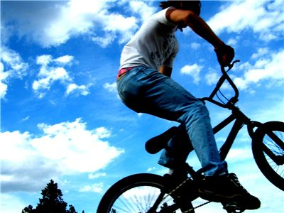 Picture Of Bmx Jump
