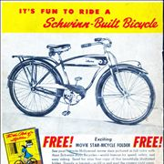 Picture Of Cruiser Bicycle Advertisement From 1946