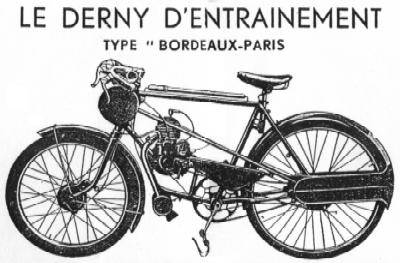 Picture Of Derny Motor Pacing Cycle