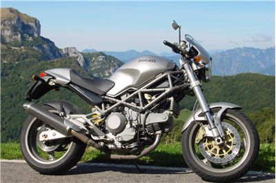 Picture Of Ducati Monster Motorcycle