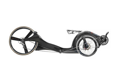 Picture of Lowracer Recumbent Bicycle Frame