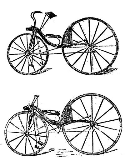 Picture Of McCallvelos Velocipede Of 1869
