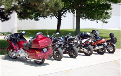 Picture Of Motorcycle Parking