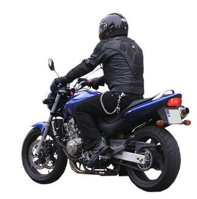 Picture Of Motorcyclist