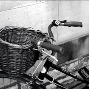 Picture Of Old Bicycle Basket