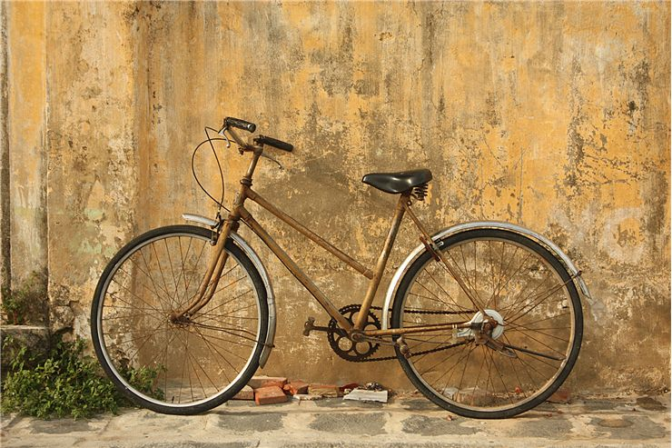 Picture Of Old Bicycle