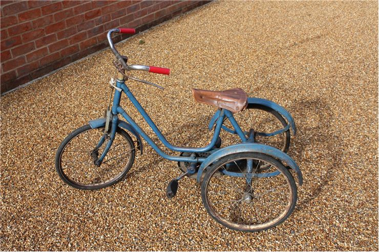 Picture Of Old Fashioned Tricycle