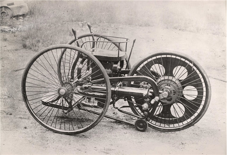 Picture Of Patent Velocycle By Butler