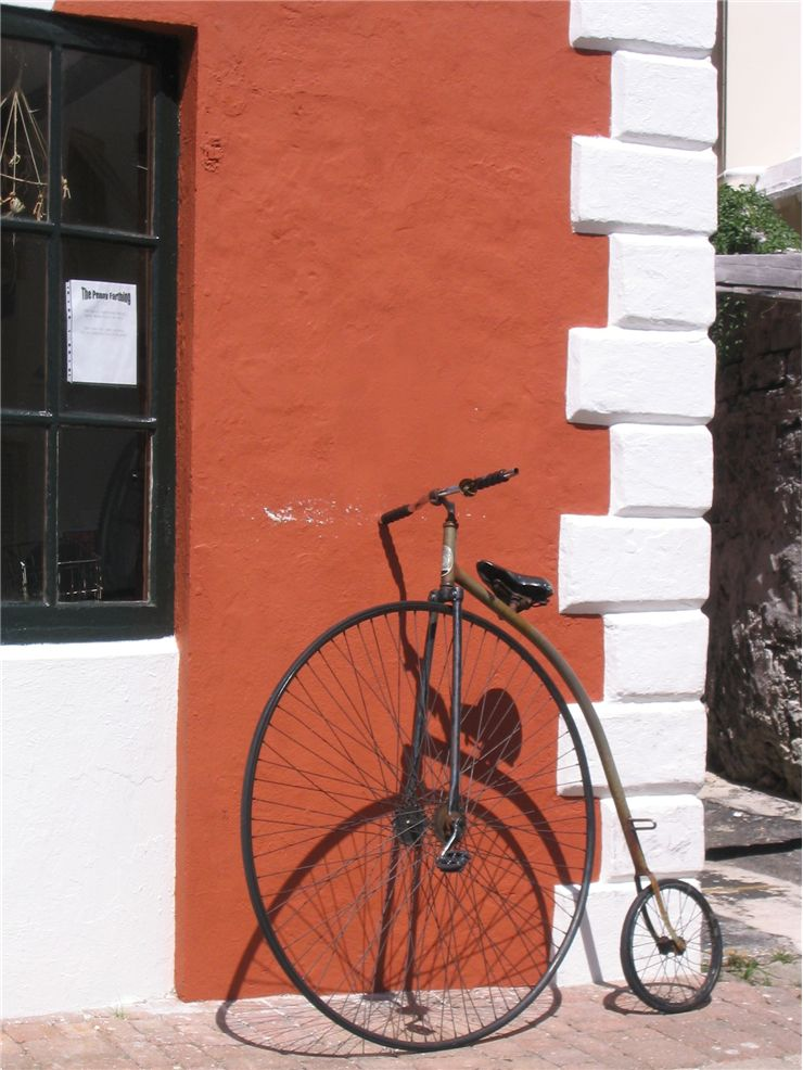 Picture Of Penny Farthing Bicycle Or Ordinary Bike