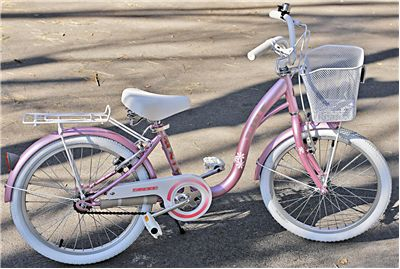 Picture Of Pink Bicycle For Girls