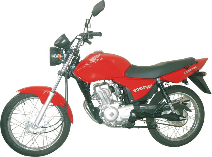 Picture Of Red Motorcycle
