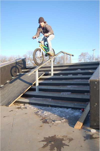 Picture of Riding Bmx Bike