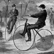 Picture Of The American Velocipede 1868