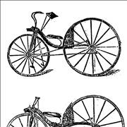Picture Of The First Rear Wheel Driven Pedalled Bicycle