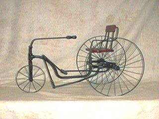 Picture Of Velocipede From 1880