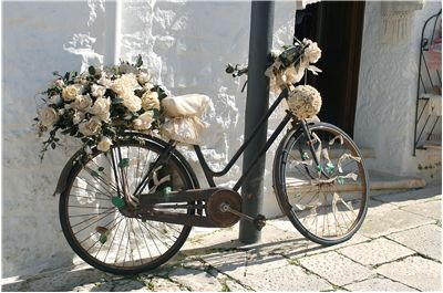 Picture Of Wedding Bicycle