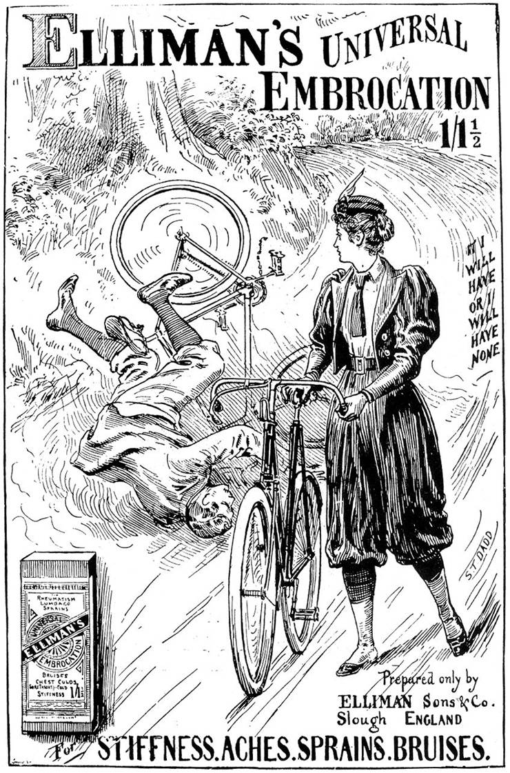 Picture Of Women Bicycle 1897 Ad