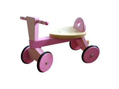 Picture Of Wooden Child Bike