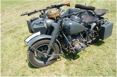 Picture Of World War 2 Motorcycle